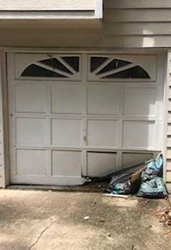 Same-day Broken Panel Replacement For Clarksville Garage Door
